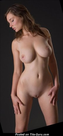 Image. Nude amazing lady with natural tittes image