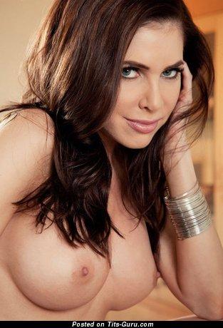 Image. Naked awesome lady with medium boobies photo