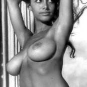 Joyce Gibson - amazing lady with big natural tittes vintage