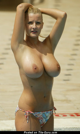 Image. Nude amazing lady with huge natural breast image