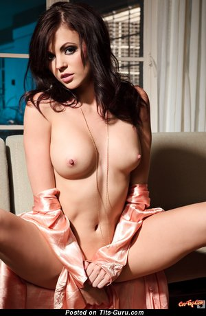 Image. Bethanie Badertscher - nude brunette with medium natural tittes pic