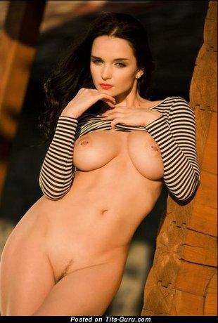 Image. Eugenia Diordiychuk - beautiful woman with big natural tots image