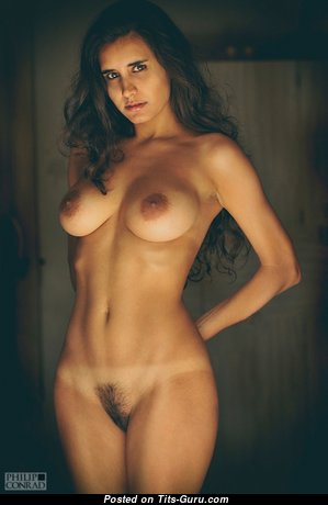 Dazzling Babe with Dazzling Naked Regular Boobys (Hd Porn Pic)