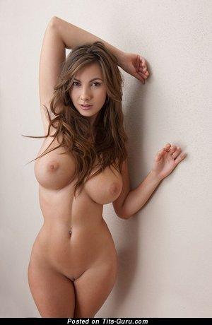 Nude beautiful woman with big tits photo