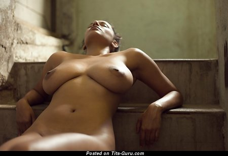 Image. Nude latina with big natural breast image