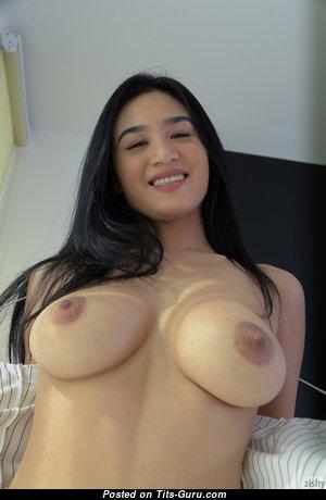 Kahlisa Boonyasak - Wonderful Asian Female with Wonderful Naked Real Regular Breasts (Vintage Hd Sex Pic)