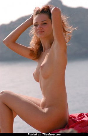 Image. Awesome girl with natural breast pic