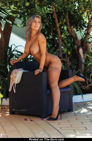 Electra Morgan - Fascinating British Blonde Girlfriend & Babe with Fascinating Open Fake Busts (Hd Xxx Foto)