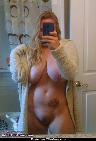 Amazing Blonde Mom & Babe with Amazing Bald Real Tits & Weird Nipples (on Public Xxx Pic)