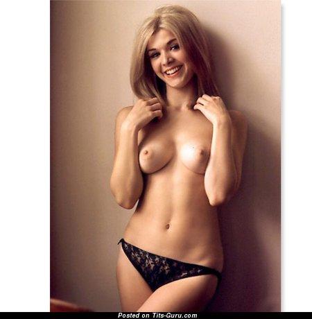 Helena Antonaccio - sexy nude blonde with small boob image