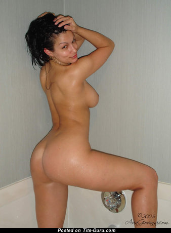 Image. Aria Giovanni - brunette with big natural tots pic