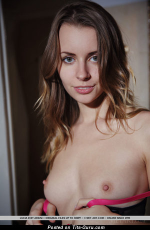 Image. Lucia D - naked awesome lady with medium natural tittes pic