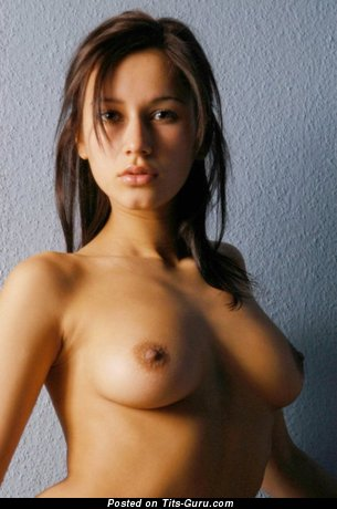 Image. Nude amazing girl with medium natural tittes photo