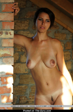 Image. Karmen - nude wonderful woman with natural breast image