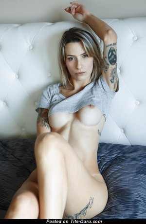 Allison Liselotte Duboi (anita Liselotte Baratta) - Alluring Honey with Alluring Defenseless Normal Tit & Tattoo (Hd Xxx Image)