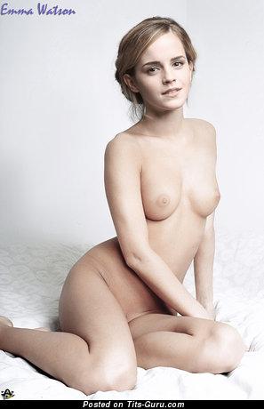 Emma Watson и мокрые и топлесс рыжие и брюнетки актриса и красотка (Великобритания) с супер голым натуральным символическим бюстом,крупными сосками,тату (аматорское селфи hd секс изображение)
