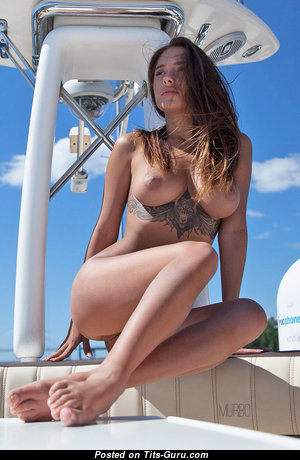 Liya Silver - Perfect Babe with Perfect Nude Natural Tight Boobies & Tattoo (Hd Xxx Image)