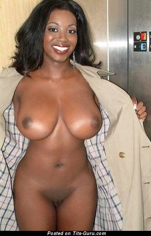 Audree James - Hot Ebony Babe with Hot Defenseless Real Normal Chest (Sexual Photo)