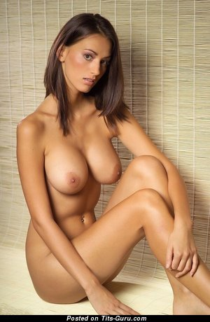 Image. Nude awesome female with big tittes and piercing pic