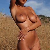 Awesome lady with big natural breast picture
