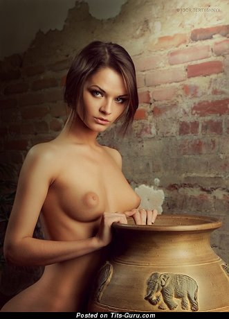 Image. Ekaterina Vladi - naked beautiful woman with medium natural boob image