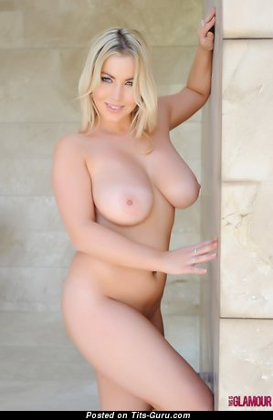 Image. Lyla Ashby - sexy nude blonde with big natural tots picture