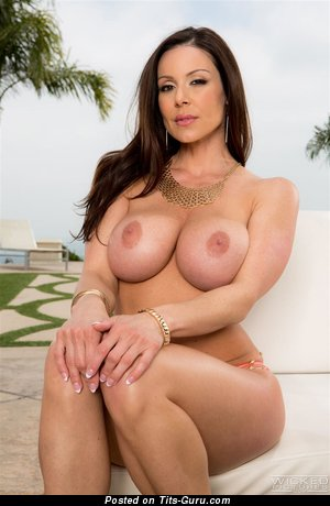 Image. Kendra Lust - sexy naked latina brunette with medium boobies picture