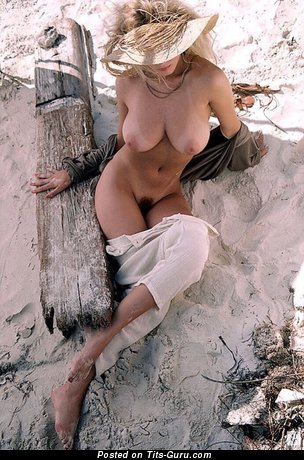 Image. Naked nice lady with big natural boobies vintage