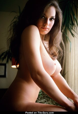 Carol Imhof - Fascinating American Playboy Brunette with Fascinating Nude Natural D Size Chest (Sex Foto)