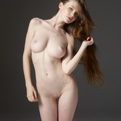 Amazing girl with big natural breast pic