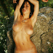 Jenya D - awesome woman with medium breast photo