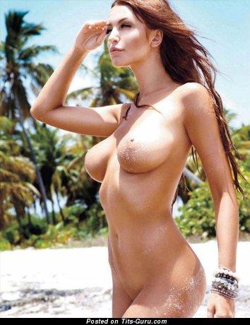 Monika Pietrasinska - sexy naked beautiful girl with medium natural tots image
