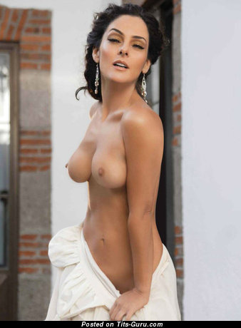 Andrea Garcia - naked latina with medium tits photo