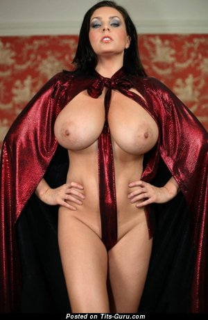 Image. Nude wonderful female with natural tittes image