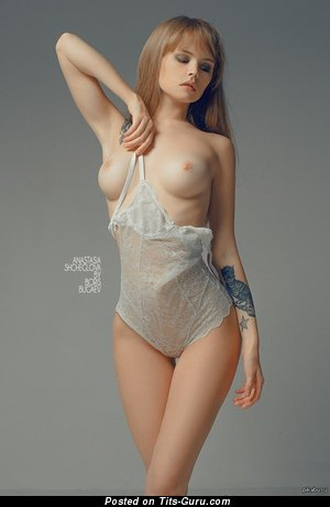 Image. Amazing lady with medium breast picture