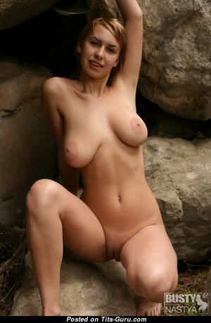 Nastya - Graceful Russian Blonde Babe with Graceful Exposed Natural Average Tittys (Hd Xxx Photo)