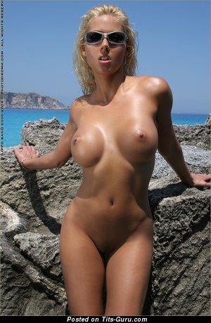 Image. Nikola Jarosova - beautiful lady with fake breast image