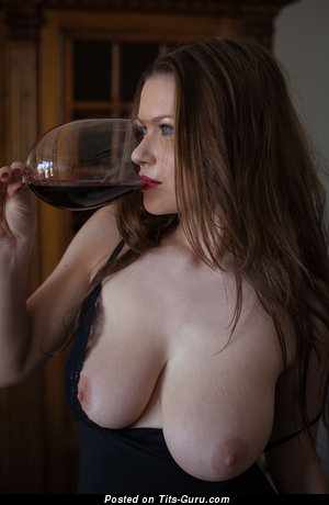 Marjana A - Splendid Topless Brunette with Splendid Nude Natural Melons is Undressing (4k 18+ Wallpaper)