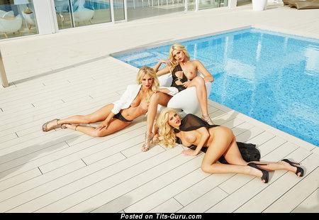 Image. Nude blonde photo
