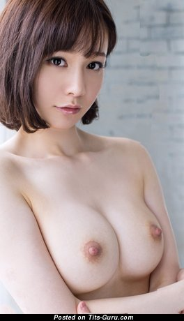 Image. Sexy nude asian brunette with medium tittys picture