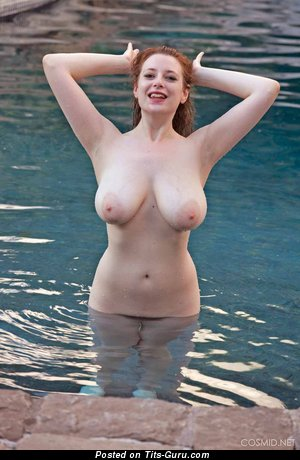 Image. Mischa - sexy wet naked blonde with big natural breast picture