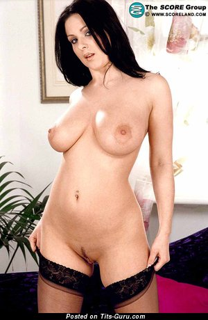 Alana Ambrose - sexy naked brunette with big natural boobs picture