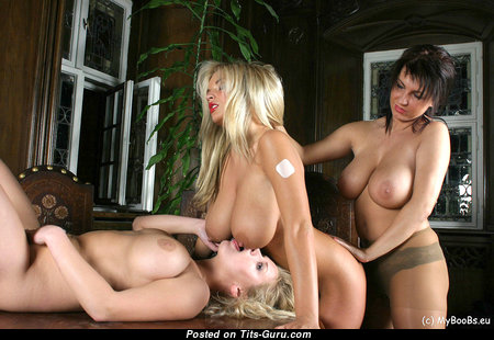 Kora Kryk, Malina May & Ines Cudna & Sexy Topless Blonde Lesbians, Girlfriend, Babe & Kissing Girls with Gorgeous Open Real Medium Sized Boobies & Puffy Nipples (Private Hd Porn Pic)