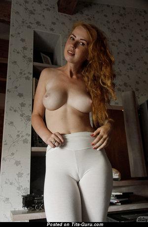 Helen Trobec - Elegant Babe with Elegant Open Natural Firm Hooters (Hd Porn Foto)