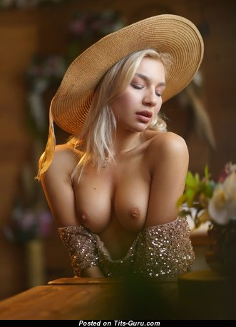 Graceful Babe with Graceful Bare Natural Regular Busts (Hd Porn Picture)