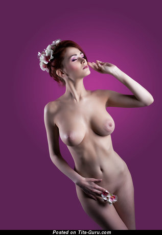 Image. Nude wonderful girl photo