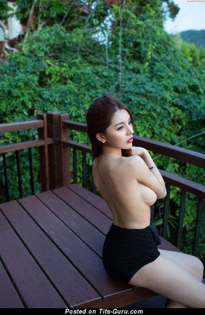 Image. Zhao Wei Yi - nude asian with big natural tittys photo