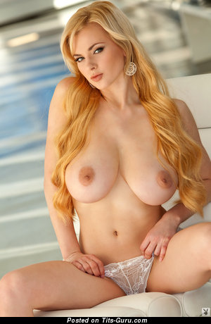 Sasha Bonilova - Cute Ukrainian, American Playboy Blonde Babe with Cute Naked Real Big Boobs (Hd Porn Photoshoot)