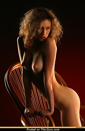Image. Amazing woman with medium natural tittes photo