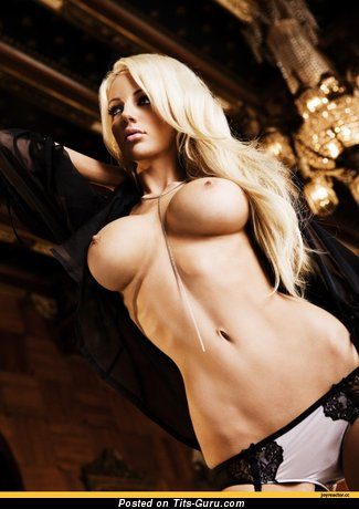 Nude hot girl with big fake tittys pic
